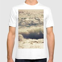 Autumn Sea Mens Fitted Tee White SMALL