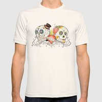 Death Do Us Part Mens Fitted Tee Natural SMALL