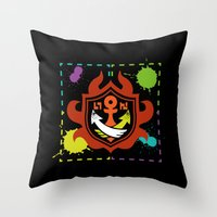Splatoon - Game of Zones Throw Pillow