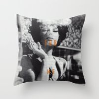 Come For Me, Darling Throw Pillow