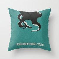Disney Villains- Ursula Throw Pillow