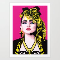 Virgin-like Girl Art Print