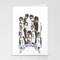 HARRY STYLES - HEAVEN IS A PLACE ON EARTH WITH YOU Stationery Cards