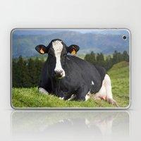 Cow portrait Laptop & iPad Skin