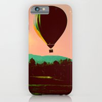 iPhone & iPod Case featuring Hot Air Balloon by Derek Fleener