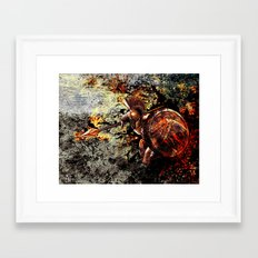 Spartan Framed Art Print