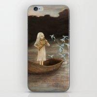 Solo At Dawn iPhone & iPod Skin