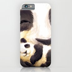Cuddly panda iPhone 6s Slim Case