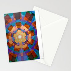 Square Explosion Stationery Cards