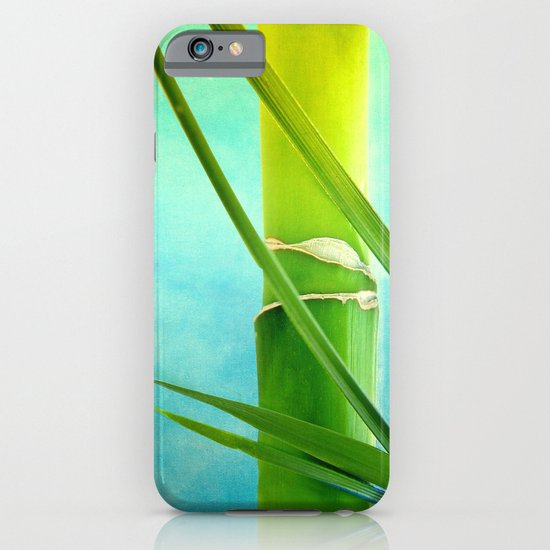 WELLNESS BAMBOO iPhone & iPod Case
