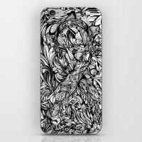 Conquer (Black & White Version)  iPhone & iPod Skin