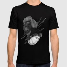 Scream Mens Fitted Tee Black SMALL
