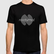 Nocturnal SMALL Black Mens Fitted Tee