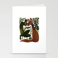 The Spirit Temptation Stationery Cards