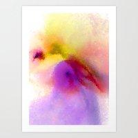 Space Mist Art Print