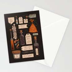 Spooky Halloween Odds and Ends Stationery Cards