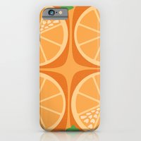 iPhone & iPod Case featuring Orange Heart by CarmanPetite