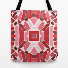 warm color pattern Tote Bag