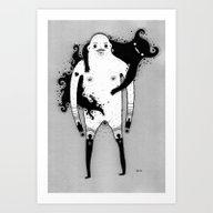 Belly Spirit Art Print