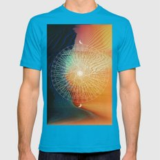 Good Life Mens Fitted Tee Teal SMALL