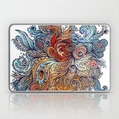 Brown Floral Indian Pattern Laptop & iPad Skin