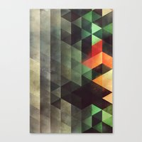 Ghyst Syde Canvas Print