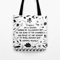 Savage Tote Bag