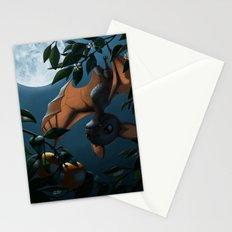 Bat Fruit Stationery Cards