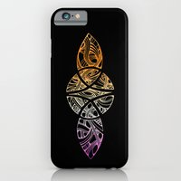 iPhone Cases featuring celtic infinity symbol on black by drusillaDEveer