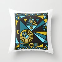 Witchcraft Alchemist Throw Pillow