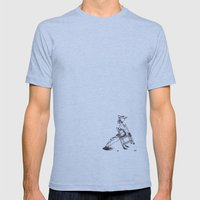 Child Mens Fitted Tee Athletic Blue SMALL