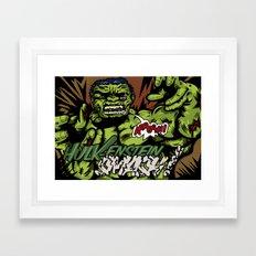 Hulkenstein SMASH! Framed Art Print