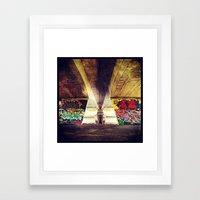 'GRAFFITI' Framed Art Print