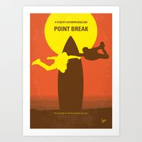 No455 My Point Break Min… Art Print