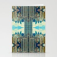NYC in patterns Stationery Cards