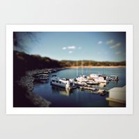 Tilt Shift Art Print