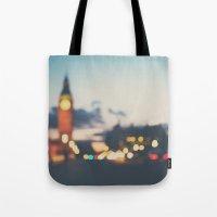 london lights Tote Bag
