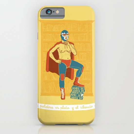 Lucha Library iPhone & iPod Case