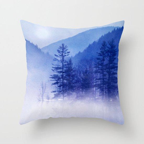 mystic sunrise II Throw Pillow