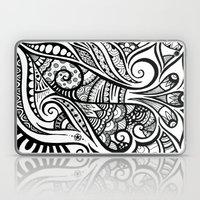 Trumpeting Tangle Laptop & iPad Skin