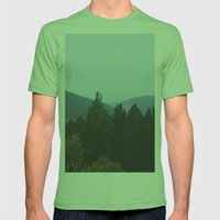 Mountain View Mens Fitted Tee Grass SMALL