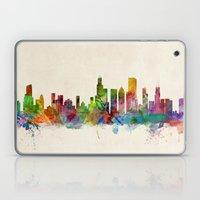 Chicago City Skyline Laptop & iPad Skin
