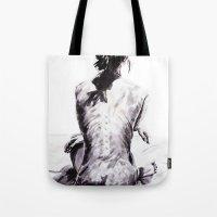 Back and Shadow Study Tote Bag