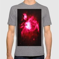 NebULA Mens Fitted Tee Tri-Grey SMALL
