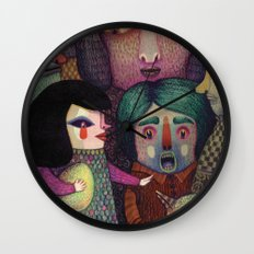 Sing My Heart's Song Or … Wall Clock
