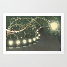 Guiding Lights Art Print