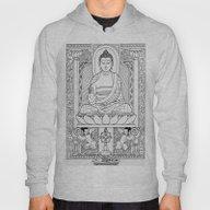 Buddha Black & White Hoody