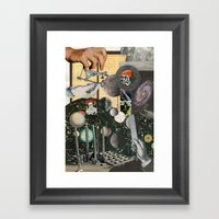 Worlds Within Worlds Framed Art Print