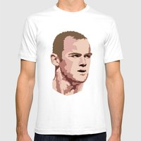Rooney Mens Fitted Tee White SMALL