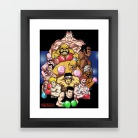 Ding! Ding!! Framed Art Print